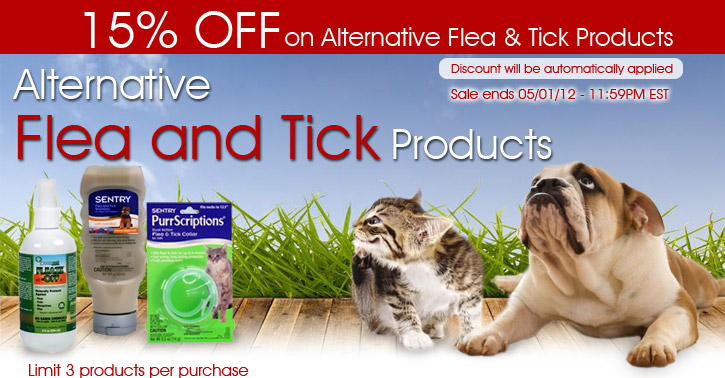 Alternative Flea and Tick Products
