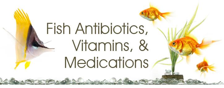 Fish Antibiotics, Vitamins, and Medications