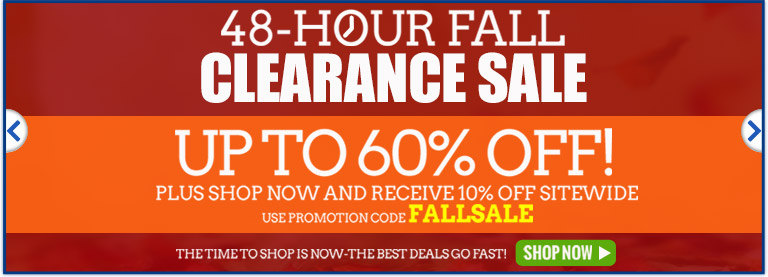 Fall Clearance