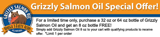 Grizzly Salmon Oil Special Offer