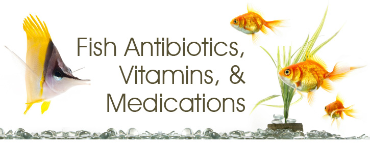 Fish Antibiotics, Vitamins, and Medications
